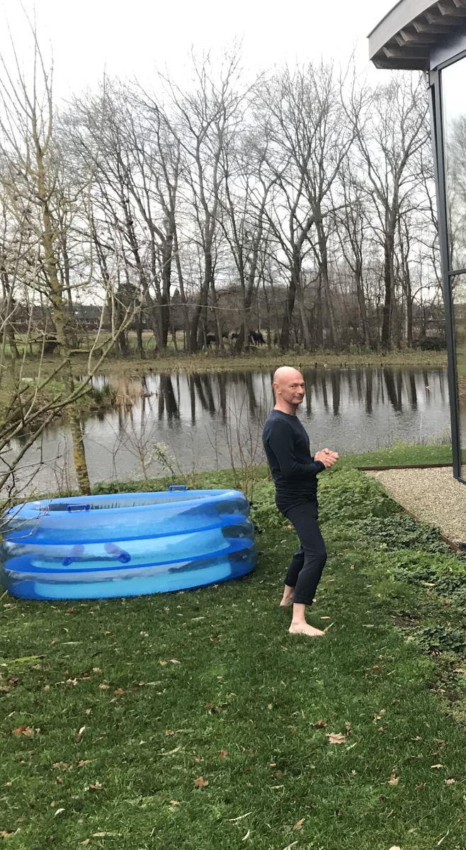 Serge Snoei, Wim Hof trainer en ademcoach